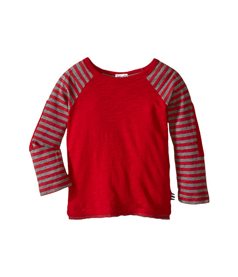 Splendid Littles - Long Sleeve Knit Crew (Toddler) (Red) Boy