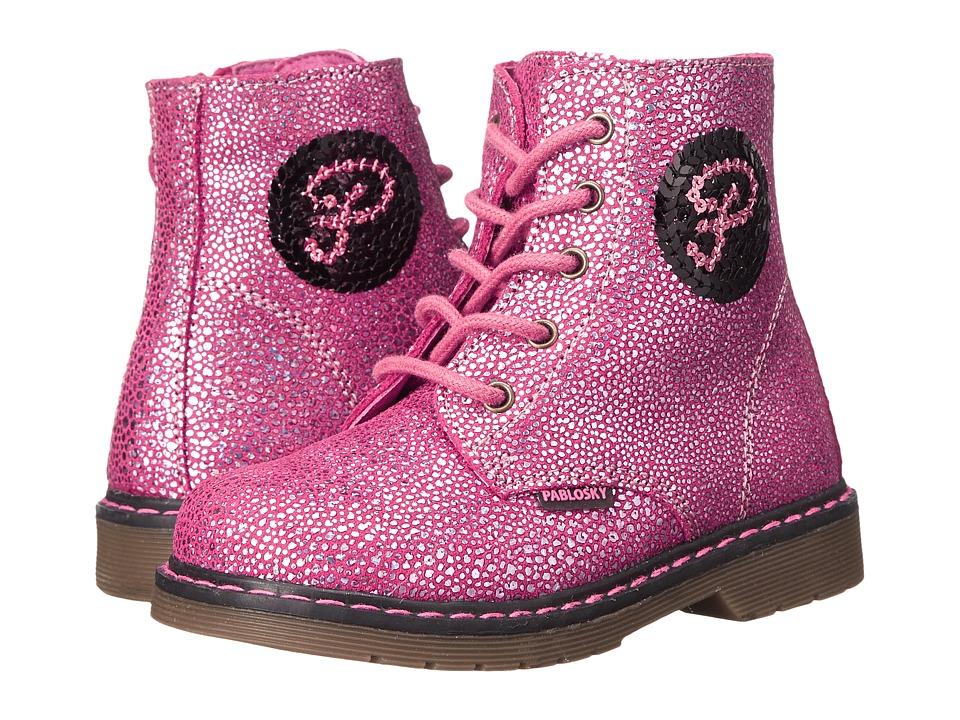 Pablosky Kids - 0705 (Toddler) (Magenta) Girl's Shoes