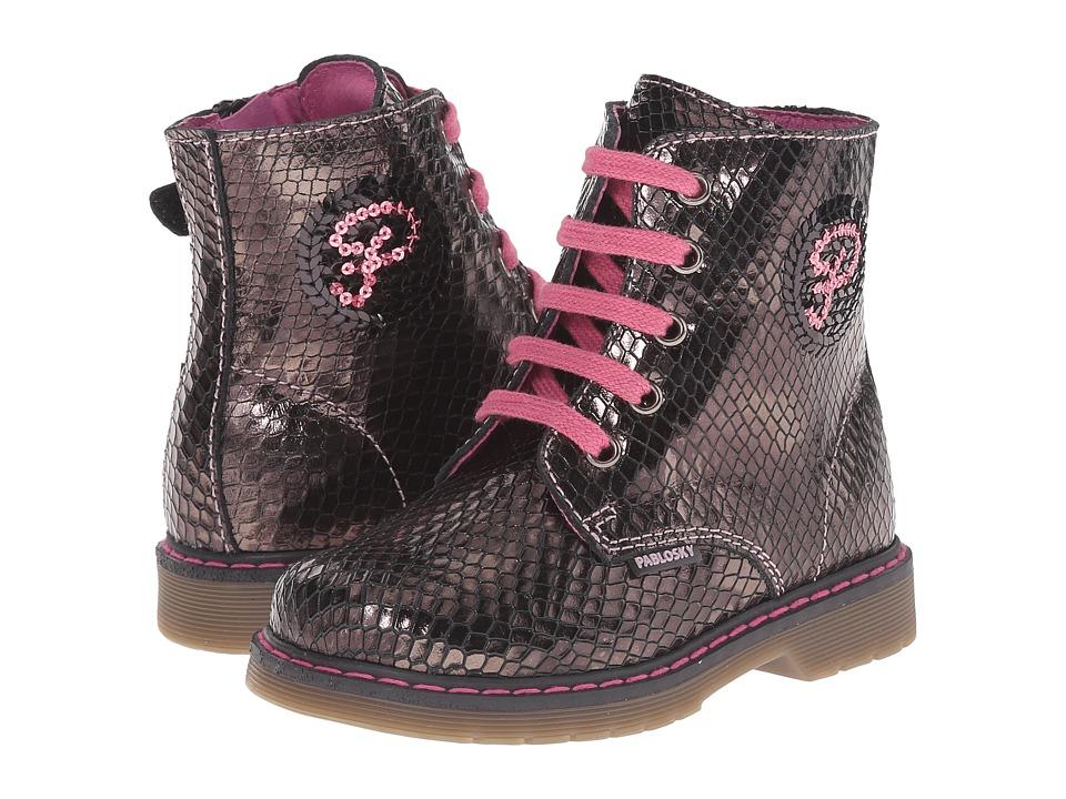 Pablosky Kids - 4241 (Toddler/Little Kid/Big Kid) (Black) Girls Shoes