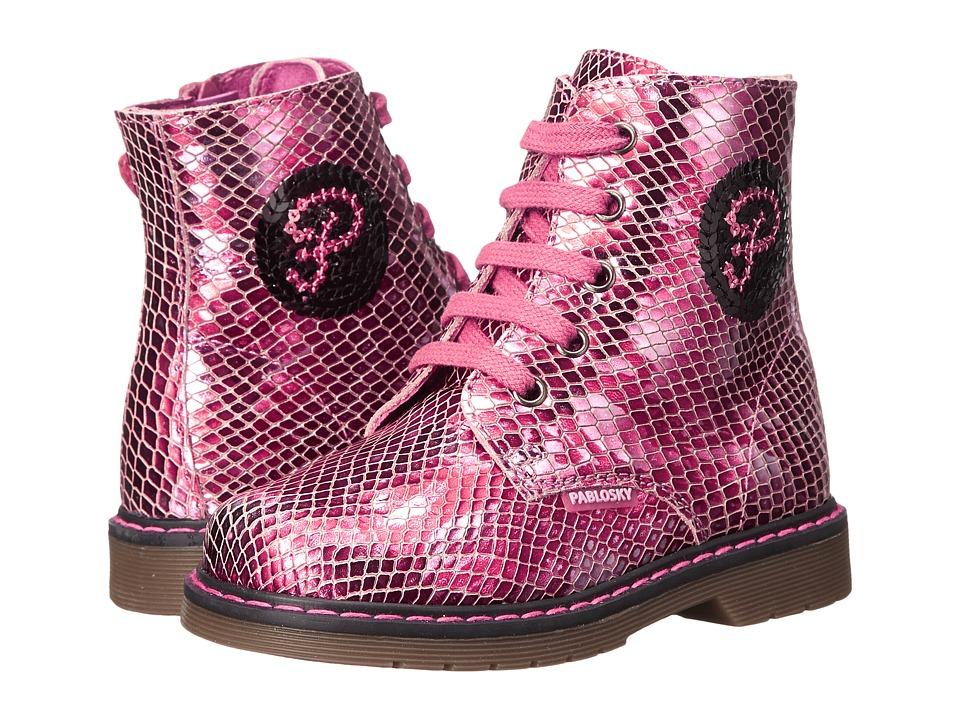 Pablosky Kids - 4241 (Toddler/Little Kid/Big Kid) (Magenta) Girls Shoes