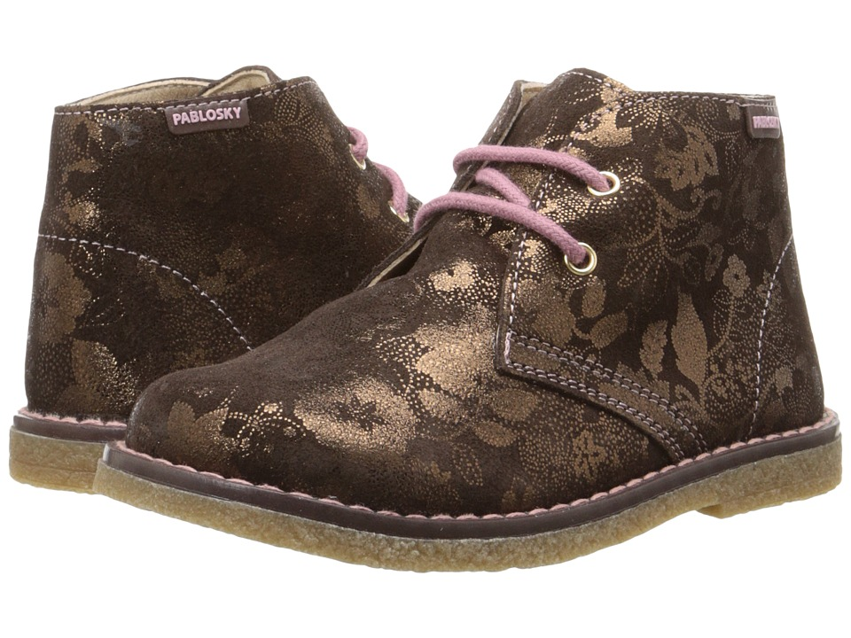 Pablosky Kids - 0729 (Toddler) (Bronze) Girl's Shoes