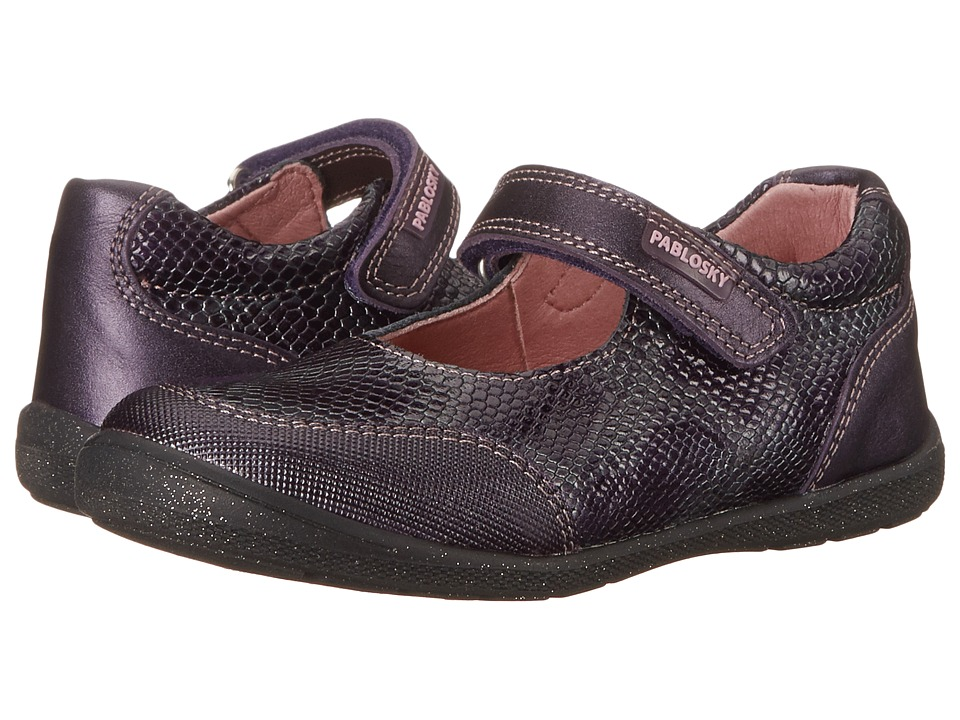 Pablosky Kids - 0744 (Toddler) (Violet) Girl's Shoes