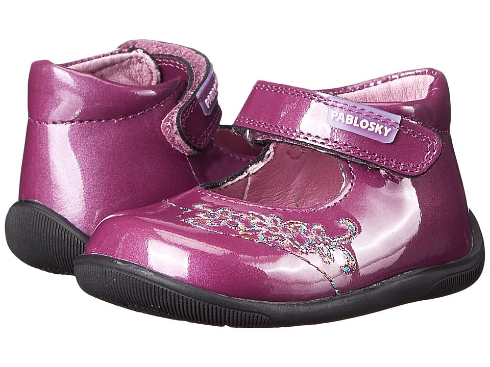 Pablosky Kids - 0650 (Infant/Toddler) (Fuchsia Patent) Girls Shoes