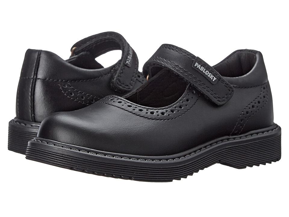 Pablosky Kids - 3125 (Toddler/Little Kid/Big Kid) (Black) Girl's Shoes