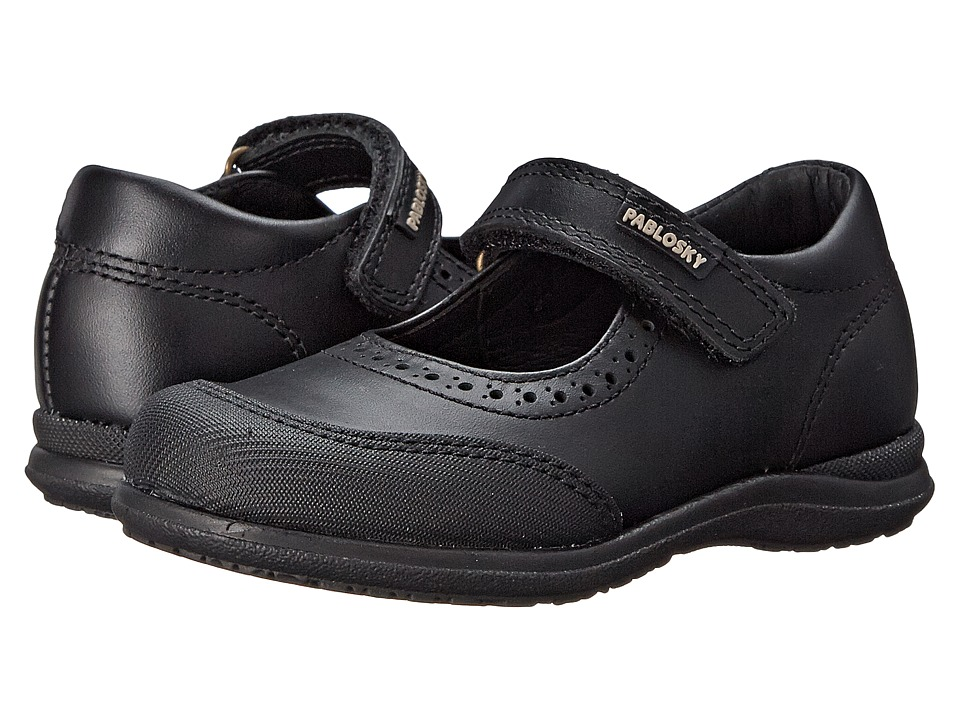Pablosky Kids - 3100 (Toddler/Little Kid/Big Kid) (Black) Girl's Shoes