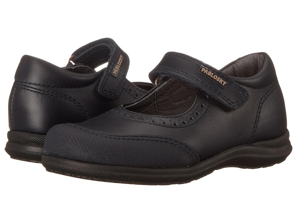 Pablosky Kids - 3100 (Toddler/Little Kid/Big Kid) (Navy) Girl's Shoes