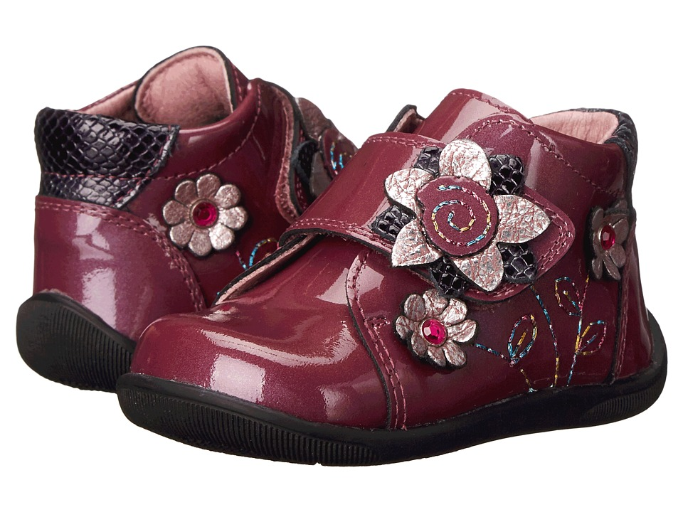 Pablosky Kids - 0655 (Infant/Toddler) (Fuchsia Patent) Girls Shoes