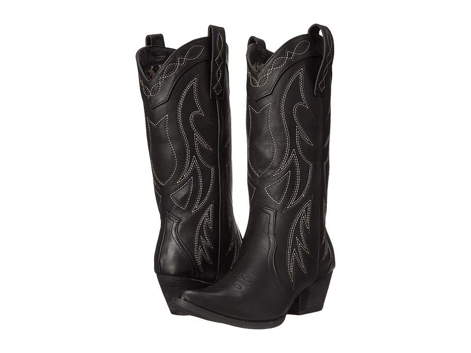 VOLATILE - Haystack (Black) Women's Pull-on Boots