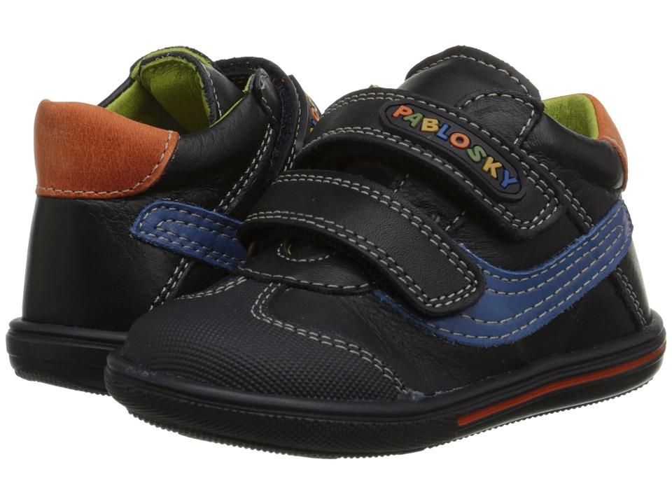Pablosky Kids - 0662 (Infant/Toddler) (Navy) Boy's Shoes
