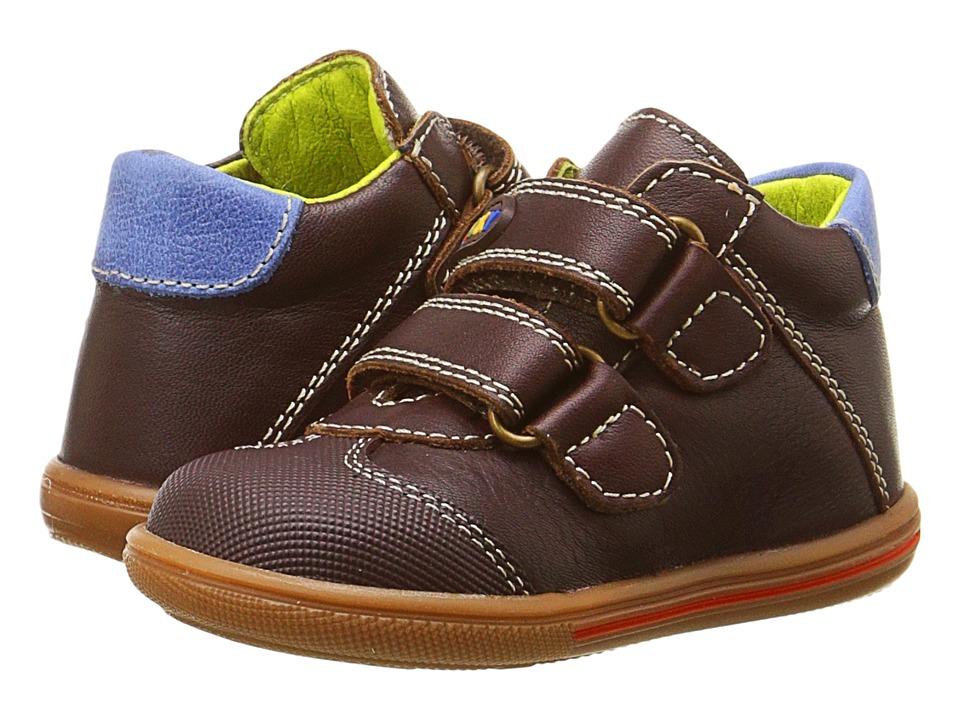 Pablosky Kids - 0662 (Infant/Toddler) (Brown) Boy's Shoes