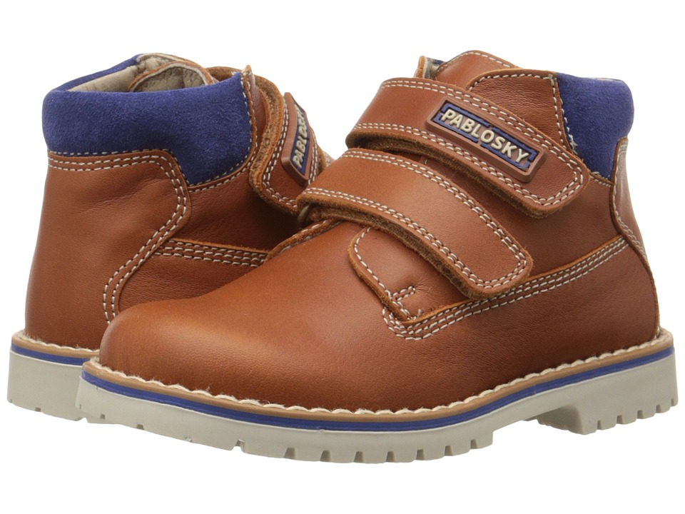 Pablosky Kids - 0708 (Toddler) (Brandy) Boy's Shoes