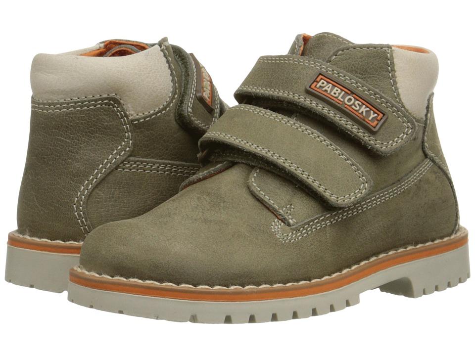 Pablosky Kids - 0708 (Toddler) (Grey) Boy's Shoes