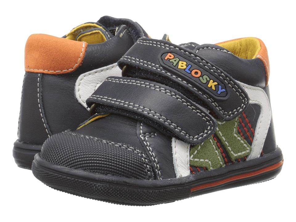 Pablosky Kids - 0663 (Infant/Toddler) (Navy) Boys Shoes