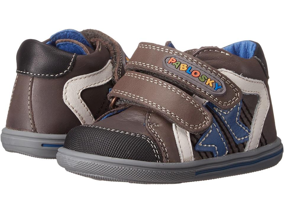 Pablosky Kids - 0663 (Infant/Toddler) (Grey) Boys Shoes