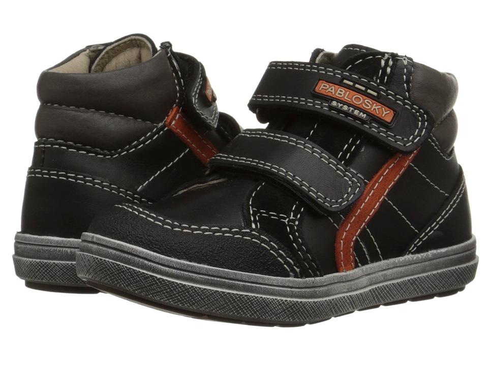 Pablosky Kids - 570012 (Toddler/Little Kid/Big Kid) (Black) Boy's Shoes
