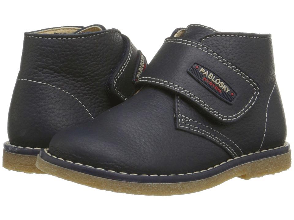 Pablosky Kids - 5686 (Toddler/Little Kid) (Navy) Boy's Shoes