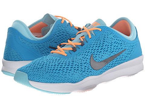Nike - Zoom Fit (Blue Lagoon/Copa/White/Dark Grey) Women