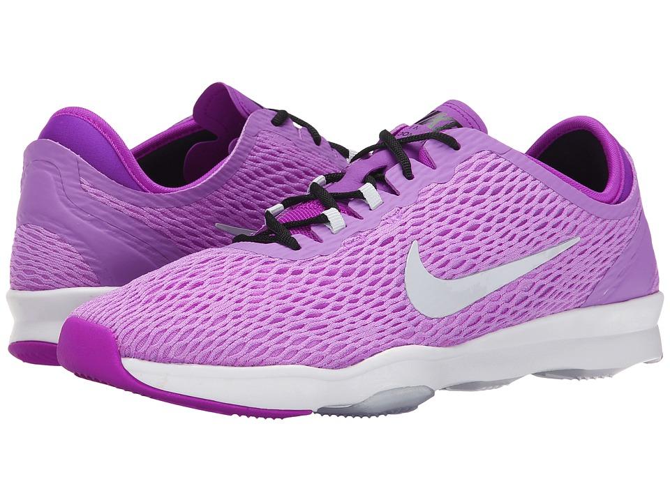 Nike - Zoom Fit (Fuchsia Glow/Vivid Purple/White/Pure Platinum) Women