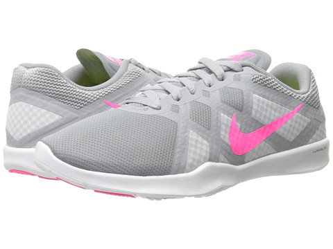 Nike - Lunar Lux TR (Stealth/Pure Platinum/Wolf Grey/Pink Pow) Women's Cross Training Shoes