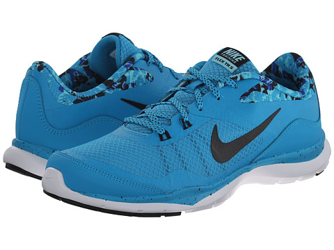 Nike - Flex Trainer 5 Print (Blue Lagoon/Copa/Game Royal/Black) Women