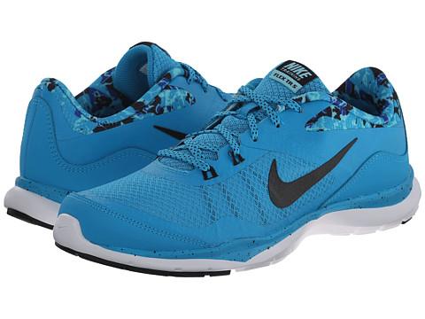 Nike - Flex Trainer 5 Print (Blue Lagoon/Copa/Game Royal/Black) Women's Cross Training Shoes