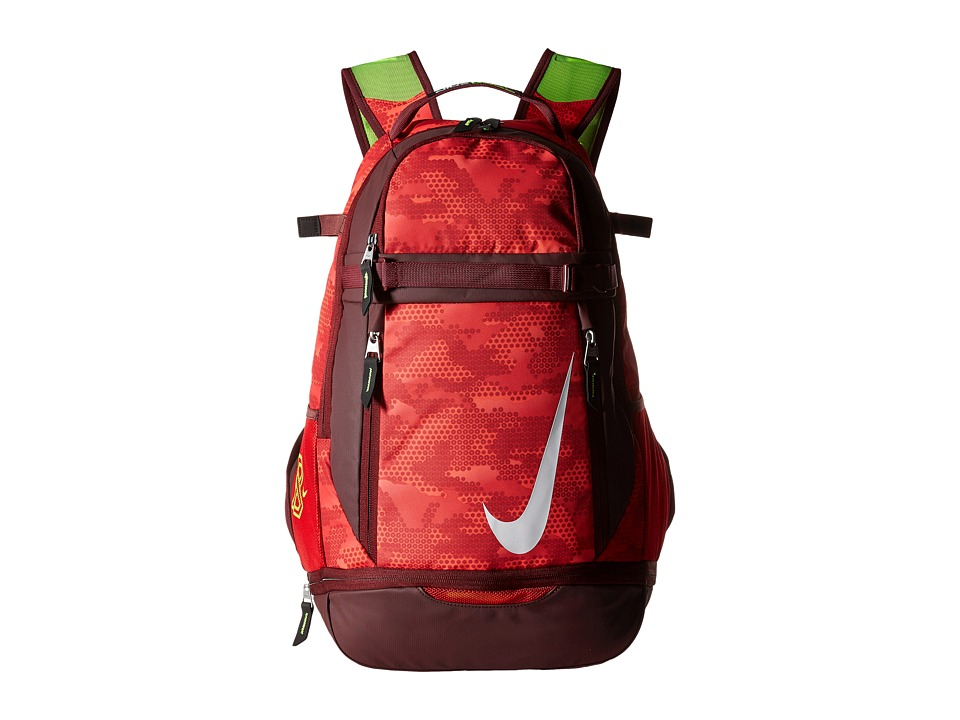 Nike - Vapor Elite Bat Backpack Graphic (University Red/Dark Team Red/White) Backpack Bags