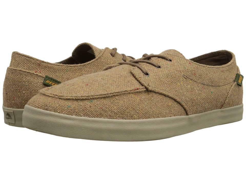 Reef - Deck Hand 2 TX (Tan Tweed) Men's Lace up casual Shoes