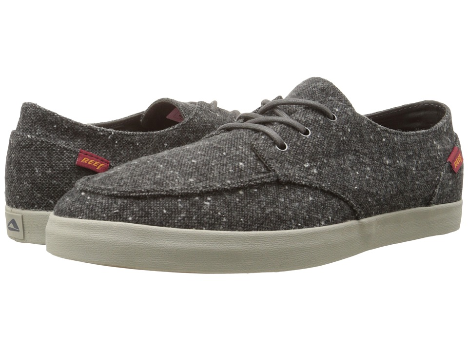 Reef - Deck Hand 2 TX (Charcoal Tweed) Men's Lace up casual Shoes