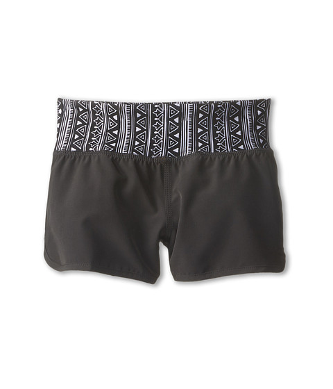 Billabong Kids - Ship Shape Shorts (Little Kids/Big Kids) (Off Black) Girl