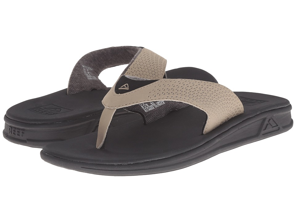 Reef - Rover (Black Tan) Men's Sandals
