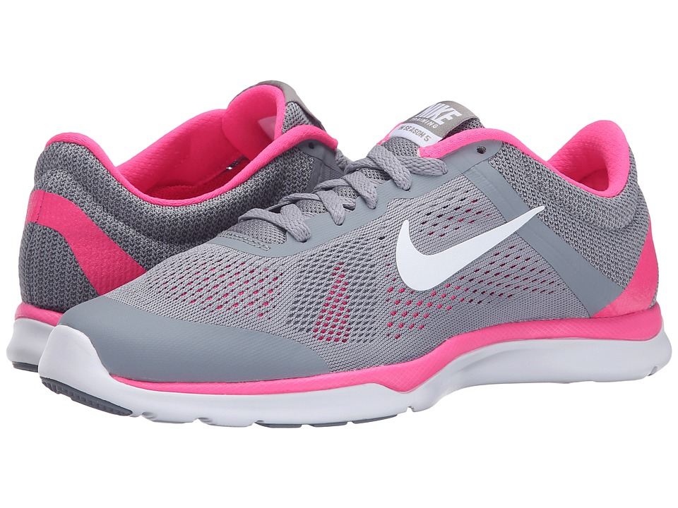 Nike - In-Season TR 5 (Stealth/Pink Pow/Cool Grey/White) Women's Cross Training Shoes