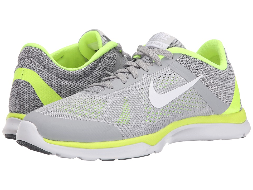 Nike - In-Season TR 5 (Wolf Grey/Volt/Pure Platinum/White) Women's Cross Training Shoes