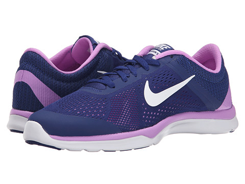 Nike - In-Season TR 5 (Deep Royal Blue/Fuchsia Glow/Blue Lagoon/White) Women's Cross Training Shoes