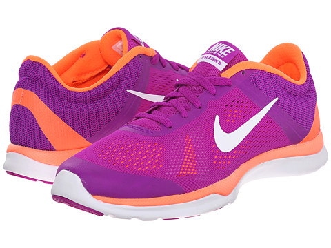 Nike - In-Season TR 5 (Vivid Purple/Hyper Orange/Fuchsia Glow/White) Women's Cross Training Shoes