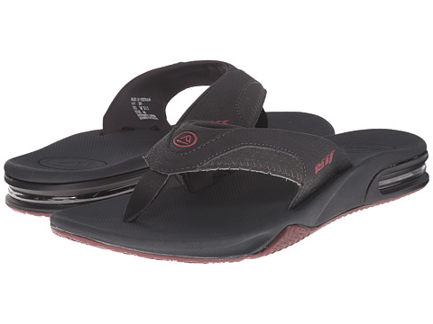 Reef - Fanning (Burgundy Stripe) Men's Sandals