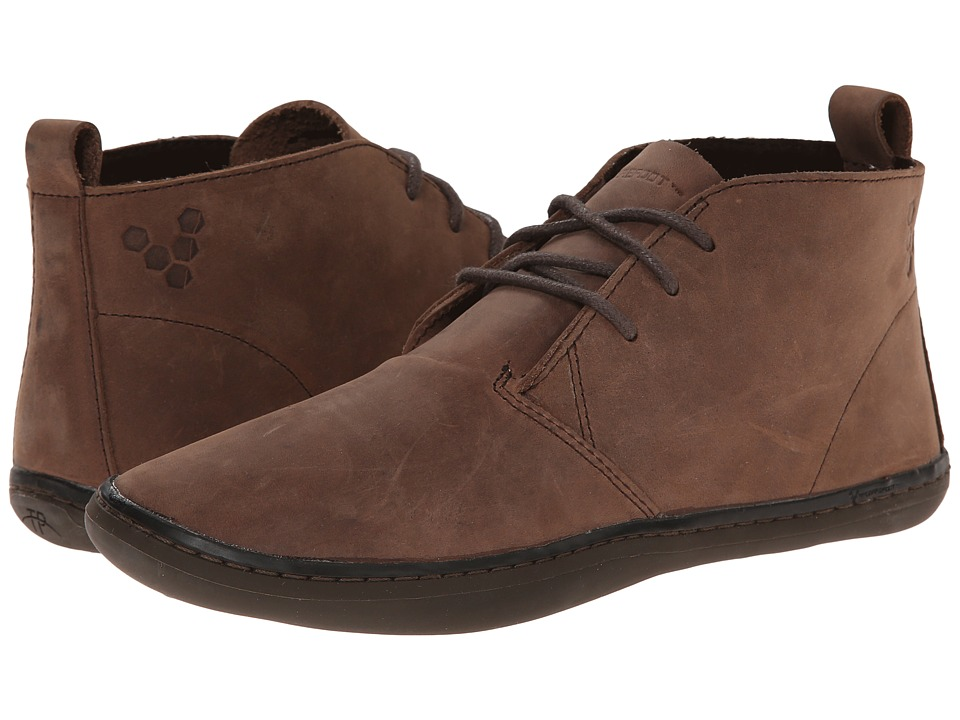 Vivobarefoot Kids - Gobi K (Big Kid) (Dark Brown) Boys Shoes