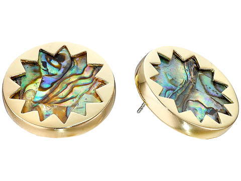 House of Harlow 1960 - Abalone Sunburst Stud Earrings (Abalone) Earring