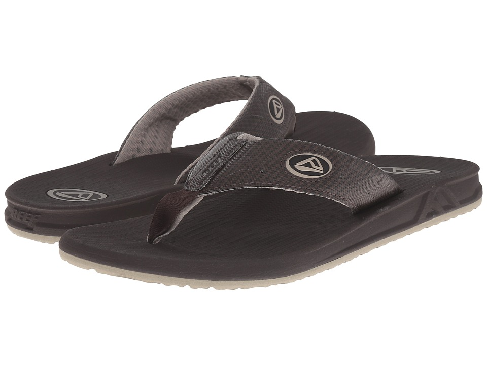 Reef - Phantom Prints (Brown Plaid TX) Men's Sandals