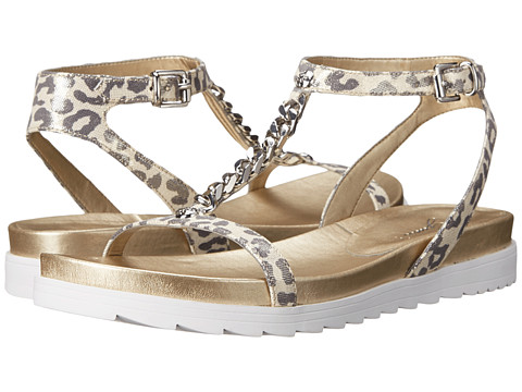 GUESS - Bryona (Leopard Leather) Women's Sandals