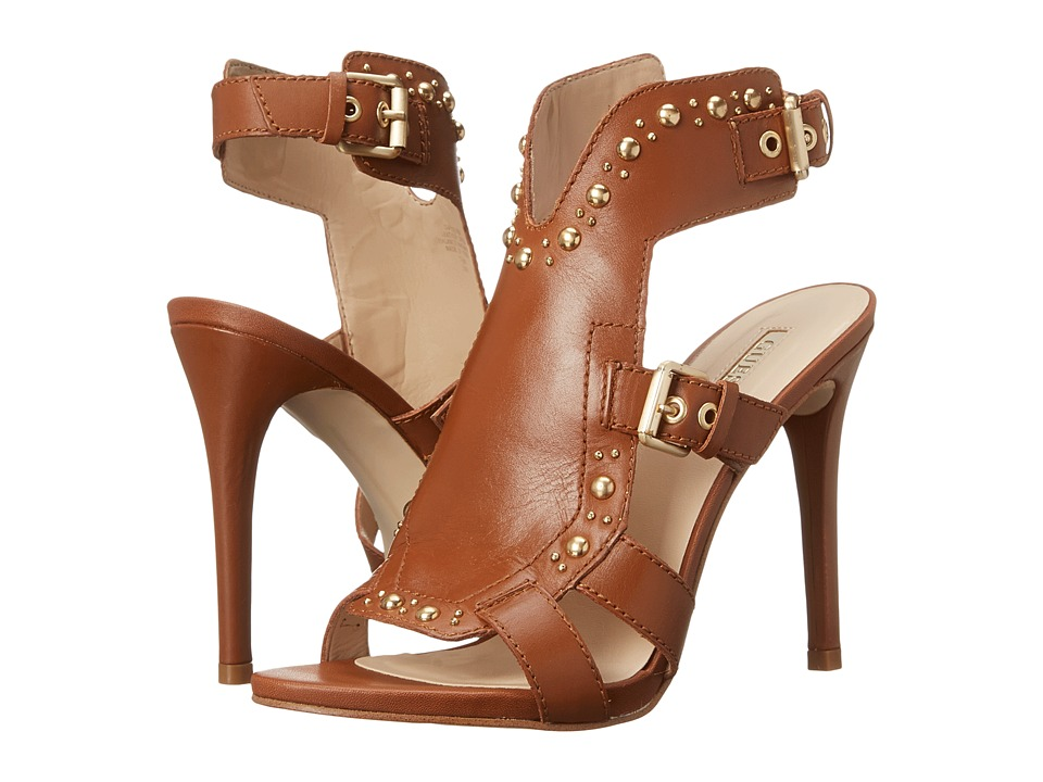 GUESS - Cooper (Tan Leather) High Heels