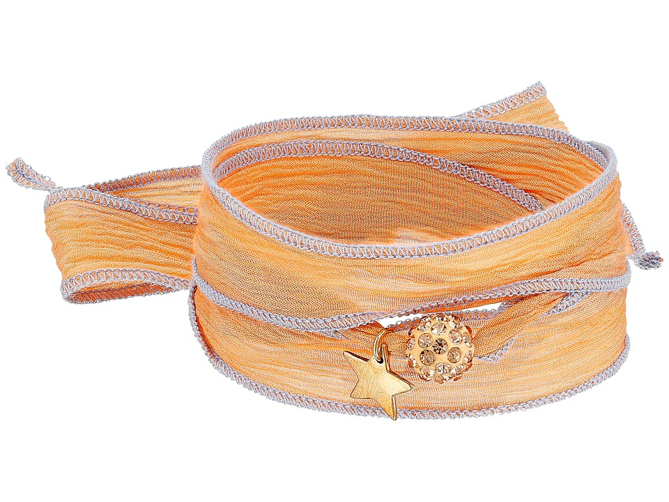Dee Berkley - Lucky Star Bracelet (Peach) Bracelet