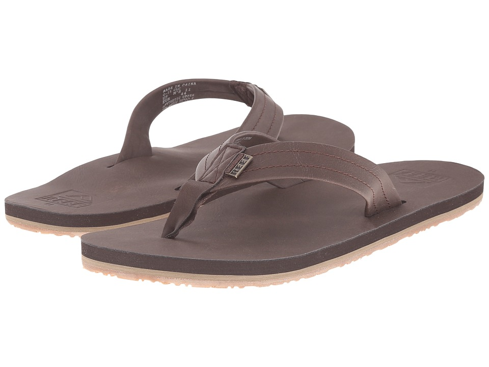 Reef - Crew SL (Dark Brown) Men's Sandals