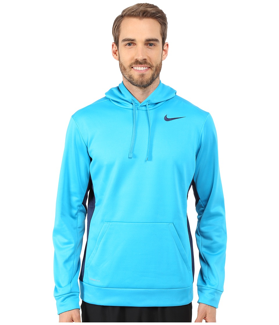 Nike - KO Hoodie 3.0 (Blue Lagoon/Midnight Navy/Midnight Navy) Men