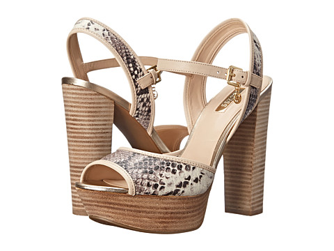 GUESS - Pursey (Snake Synthetic Snake) High Heels
