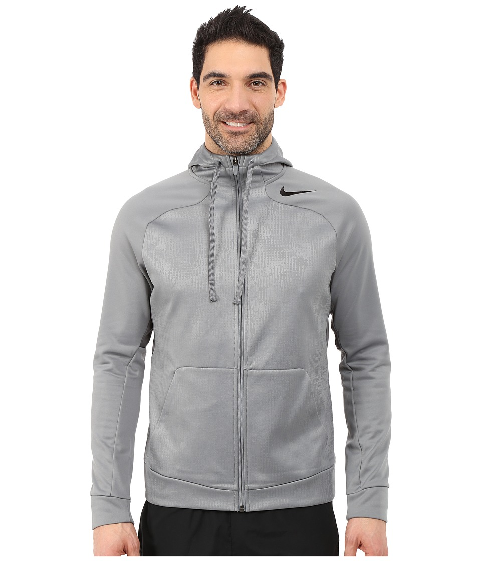 Nike - Hyperspeed Fleece Full-Zip Hoodie (Cool Grey/Cool Grey/Dark Grey/Black) Men's Sweatshirt