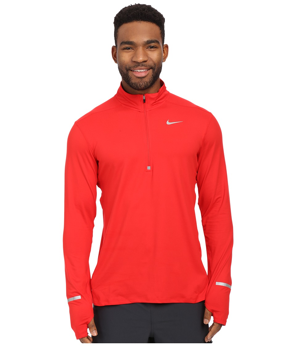 Nike - Dry Element Long Sleeve Running Top (University Red/Reflective Silver) Men's Long Sleeve Pullover