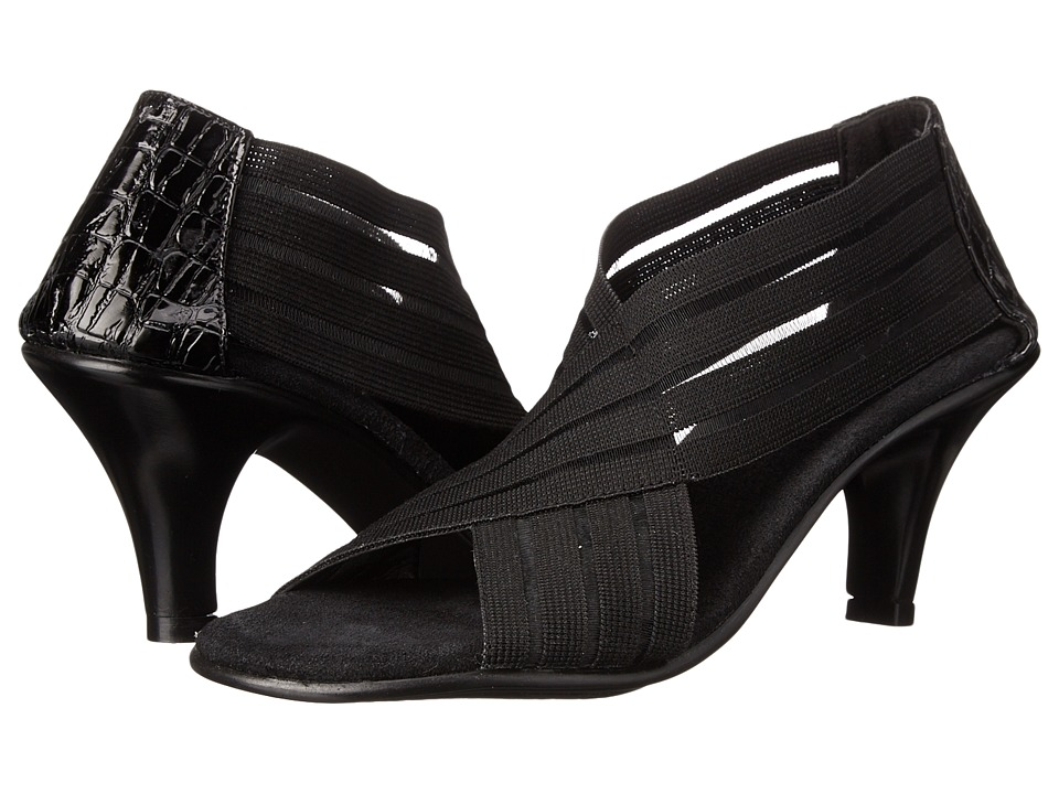 Vivanz - Colette (Black Crochet) High Heels