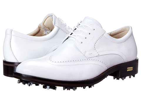 ECCO Golf - Golf New World Class (White/White 2) Men's Golf Shoes