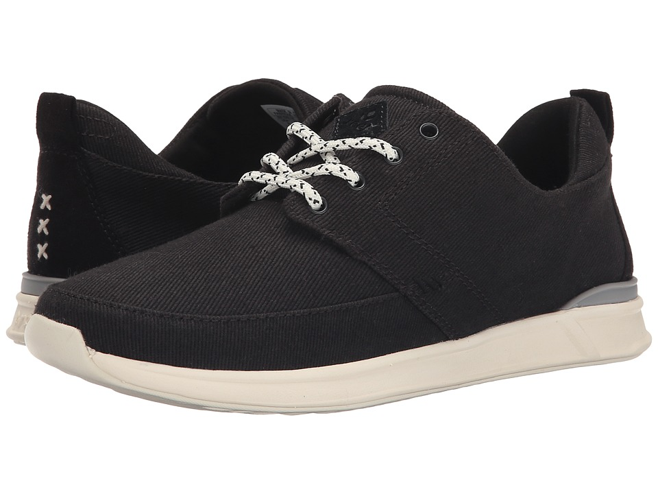 Reef - Rover Low (Black) Women's Lace up casual Shoes