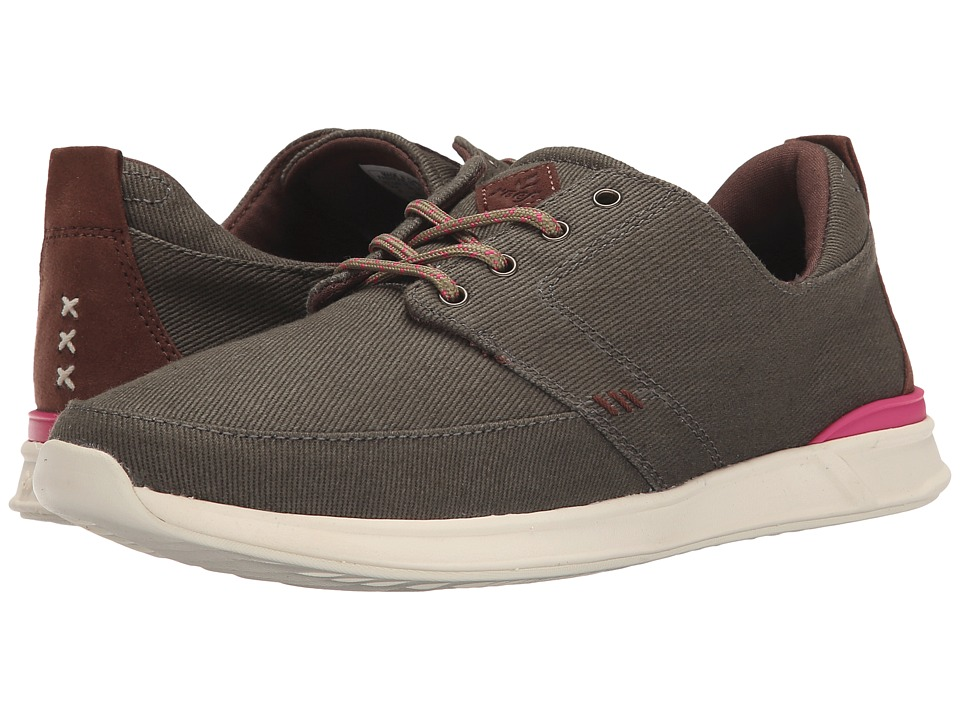 Reef - Rover Low (Olive) Women's Lace up casual Shoes